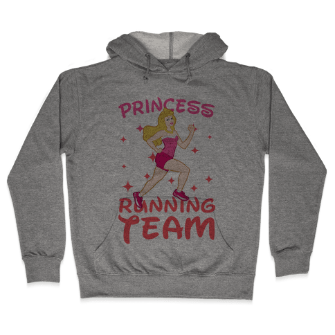 Princess Running Team (Pink) Hooded Sweatshirt