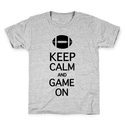 Keep Calm and Game On Kids T-Shirt