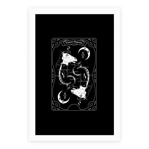 Unicorn Impostor Tarot Poster