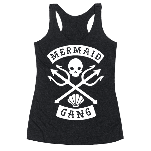 Mermaid Gang Racerback Tank Top