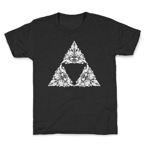 Floral Triforce Kids T-Shirt