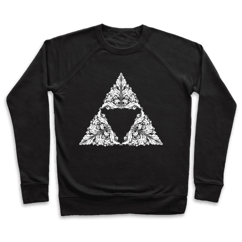 Floral Triforce Pullover