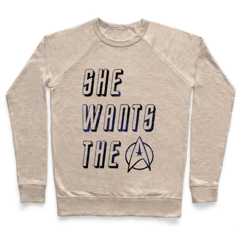 She Wants The Star Fleet Pullover