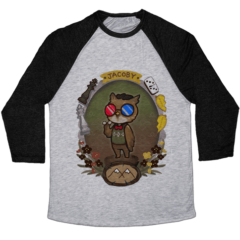 Dr Jacoby Baseball Tee