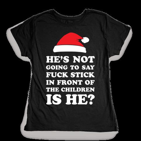 Bad Santa Womens T-Shirt