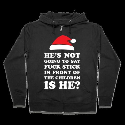 Bad Santa Zip Hoodie