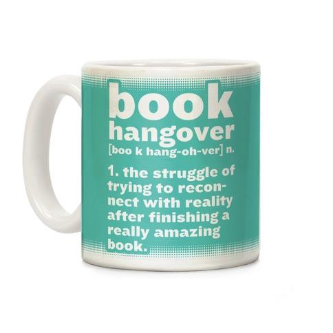 Book Hangover Definition Coffee Mug