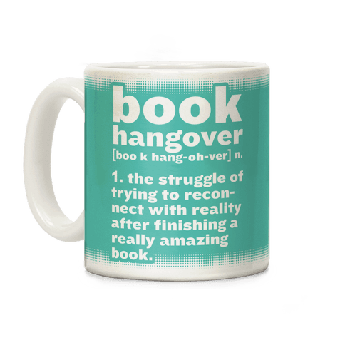 Book Hangover Definition Coffee Mug