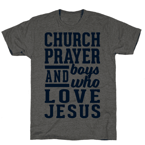 Church, Prayer, And Boys Who Love Jesus