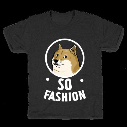 Doge: So Fashion! Kids T-Shirt
