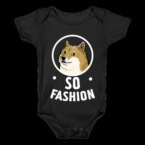 Doge: So Fashion! Baby Onesy