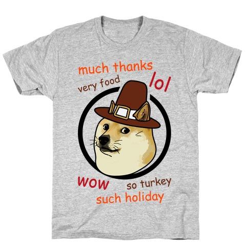 Doge Thanksgiving T-Shirt