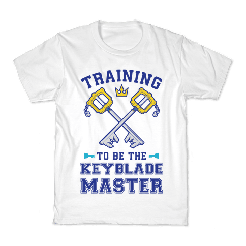 Training To Be The Keyblade Master Kids T-Shirt