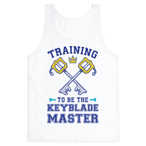 Training To Be The Keyblade Master Tank Top