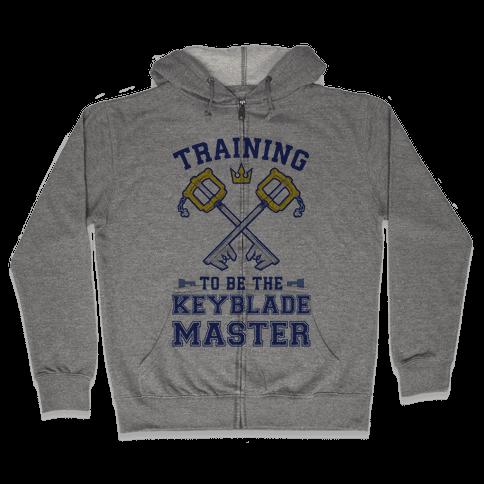 Training To Be The Keyblade Master Zip Hoodie