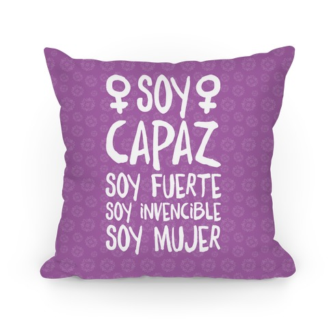 Soy Capaz Pillow