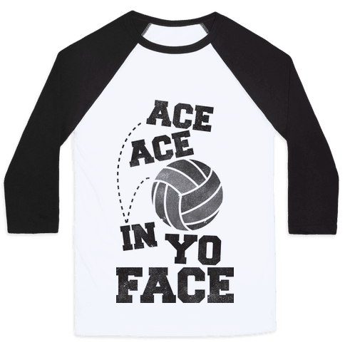 Ace Ace  Baseball Tee