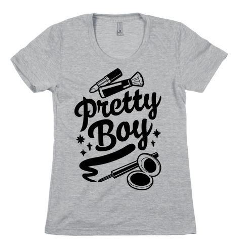Pretty Boy Womens T-Shirt