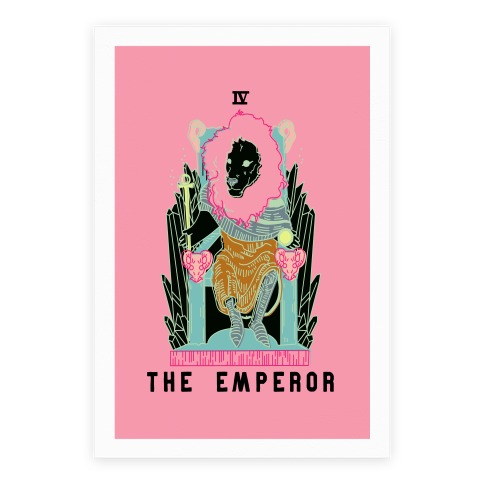 The Emperor Lion Poster