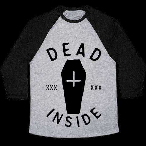 Dead Inside Baseball Tee