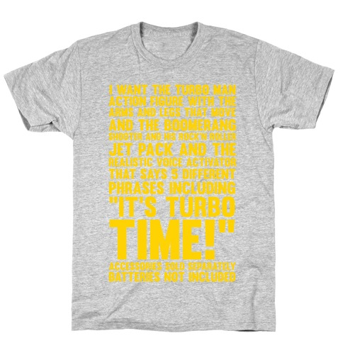 Turbo Time Mens T-Shirt