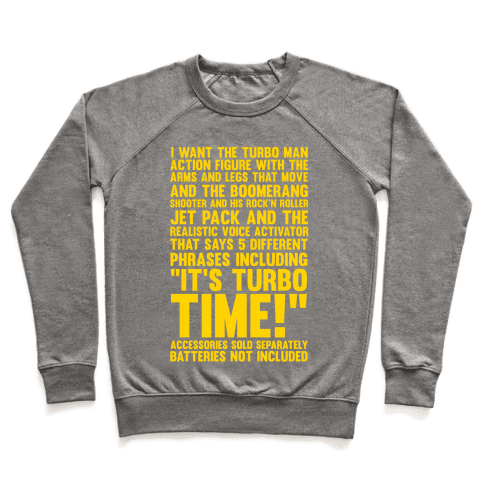 Turbo Time Pullover