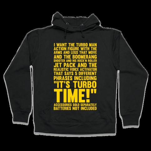 Turbo Time Hooded Sweatshirt