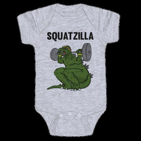 Squatzilla Baby Onesy