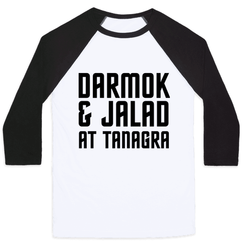 Darmok & Jalad Baseball Tee