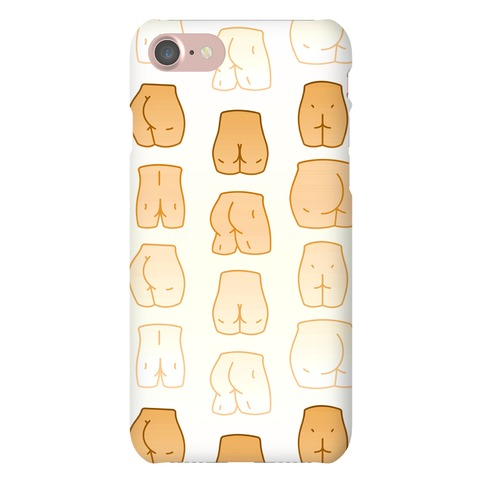 Skin Tone Butt Pattern Phone Case