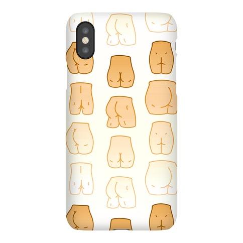 Skin Tone Butt Pattern Phone Case