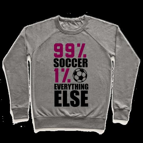 99% Soccer Pullover