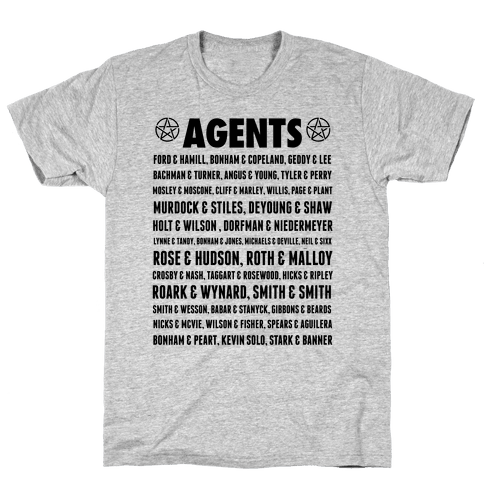 Winchester FBI Agents Mens T-Shirt