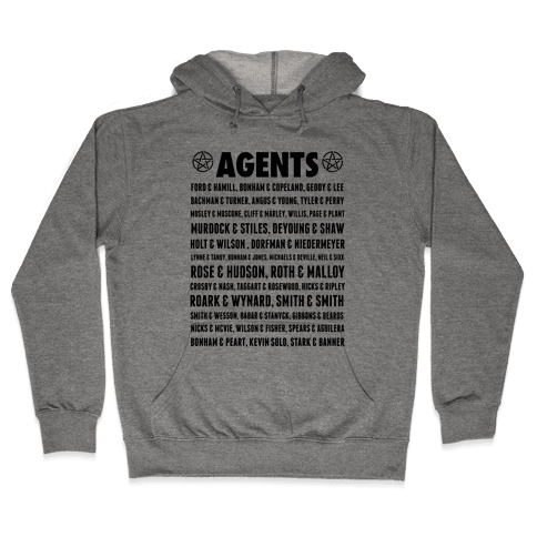 Winchester FBI Agents Hooded Sweatshirt