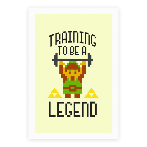 Training To Be A Legend Poster