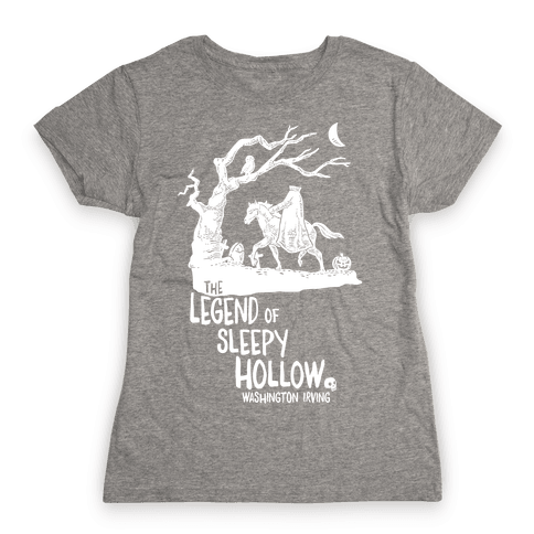 The Legend Of Sleepy Hollow Womens T-Shirt