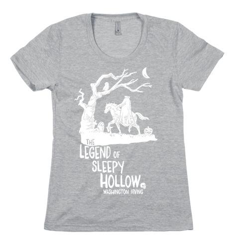 The Legend Of Sleepy Hollow Womens T-Shirt