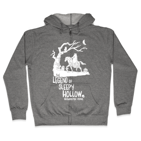 The Legend Of Sleepy Hollow Zip Hoodie