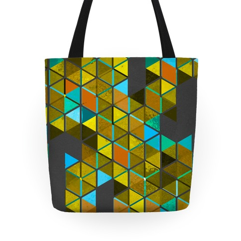 Colorful Tiles Tote