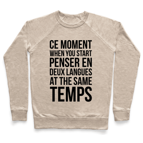 Ce Moment When Pullover