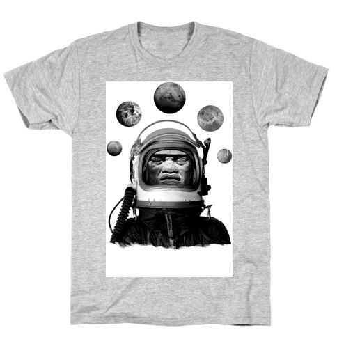 Space Olmec T-Shirt