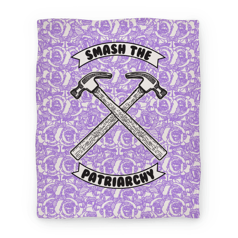 Smash the Patriarchy Blanket Blanket