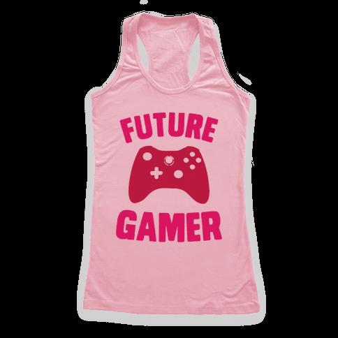 Future Gamer Racerback Tank Top