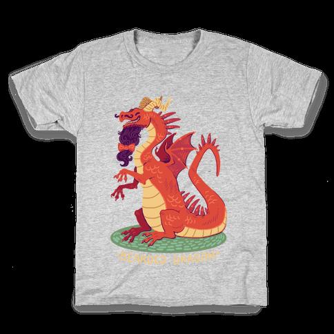 Bearded Dragon Kids T-Shirt