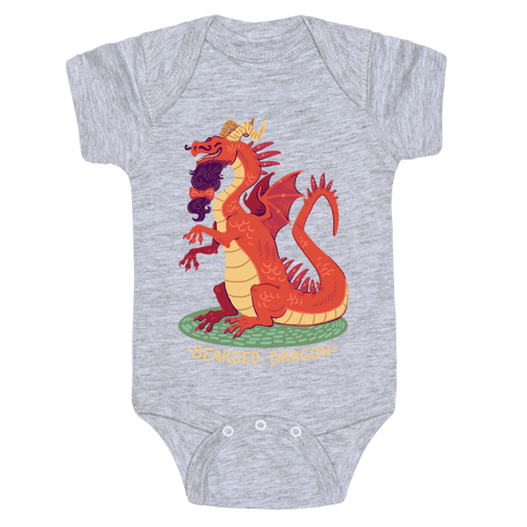 Bearded Dragon Baby Onesy