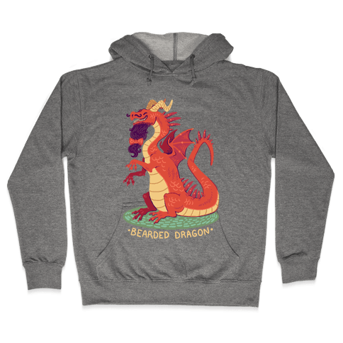 Bearded Dragon Hooded Sweatshirt