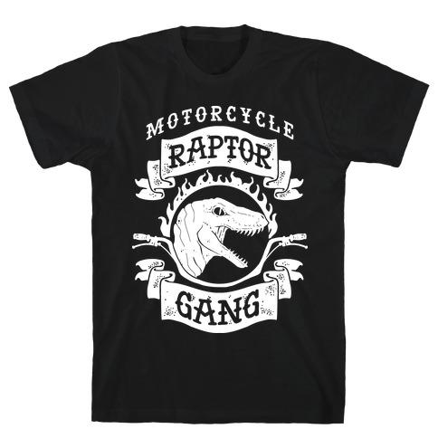 Motorcycle Raptor Gang T-Shirt