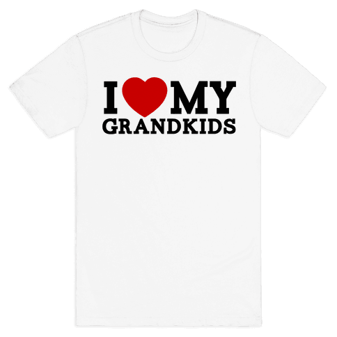 I Love My Grandkids Mens T-Shirt