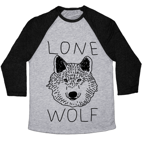Lone Wolf Baseball Tee