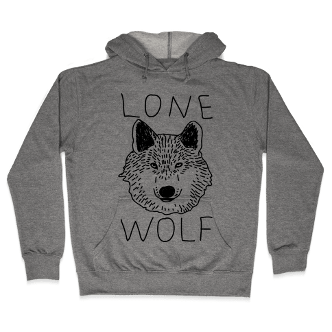 Lone Wolf Hooded Sweatshirt